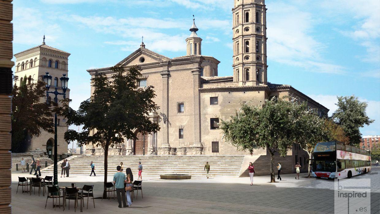 Plaza del Pilar – Murallas