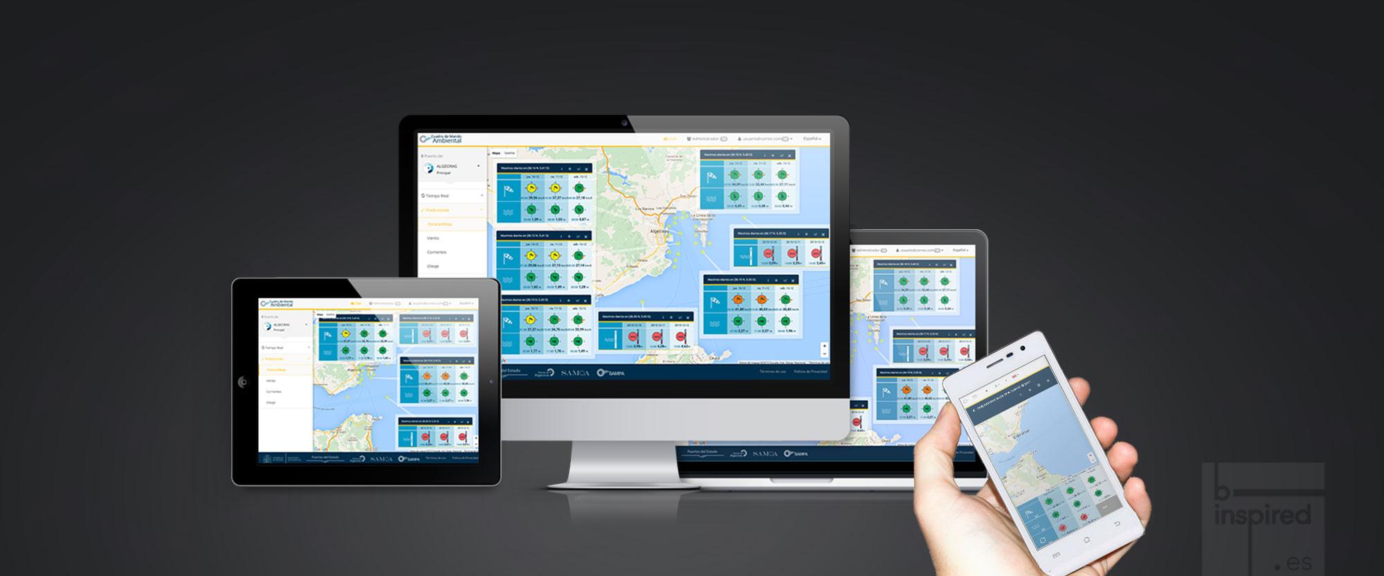 Cuadro de Mando Ambiental – Aplicación para la gestión portuaria